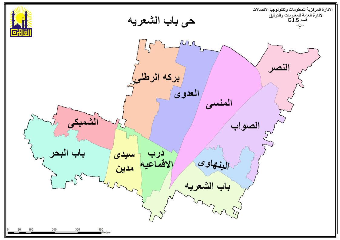خريطة الحى