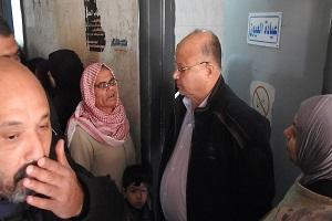 جولة محافظ القاهرة يفاجئ مستشفى التبين المركزي