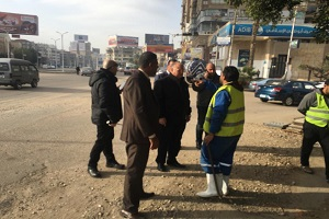 جوله لمحافظ القاهرة استعدادًا لموسم الأمطار