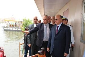 جولة ميدانية  لمحافظ القاهرة للتأكد من حسن سير الاعمال وتقديم الخدمات للمواطنين