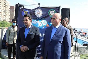محافظ القاهرة يشهد إفتتاح مشروع سفينة النيل للشباب العربي