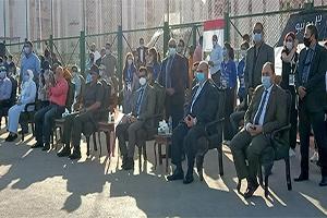وزير الشباب والرياضة ومحافظ القاهرة يشهدان إحتفالية ثورة 30 يونية بحى الأسمرات