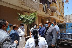 جولة السيد محافظ القاهرة لمتابعة أعمال الإزالة بحى الوايلى