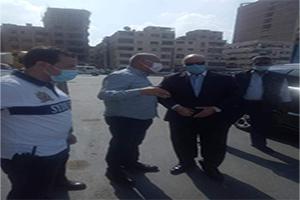 محافظ القاهرة يتفقد إنتهاء إزالات محور مسطرد
