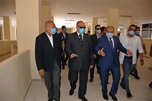 وزير التنمية المحلية ومحافظ القاهرة يتفقدان أعمال التطوير بالمطرية