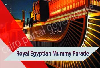 Royal Mummies Transfer Parade